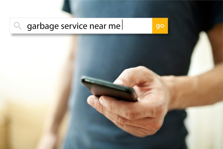 Searching for garbage service near me
