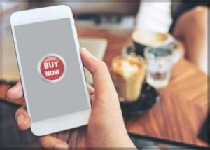 Mobile buy now button for your waste services