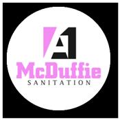 A1 McDuffie Sanitation Logo
