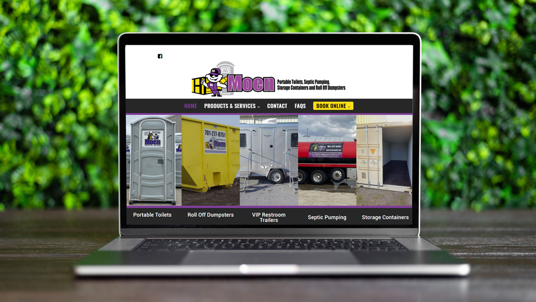 Website and SEO Services for Haulers like Moen