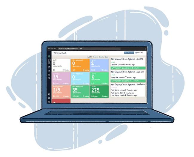 Document Management System Dashboard TrashBolt mobile