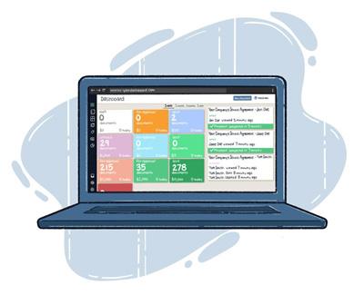 Document Management System Dashboard TrashBolt
