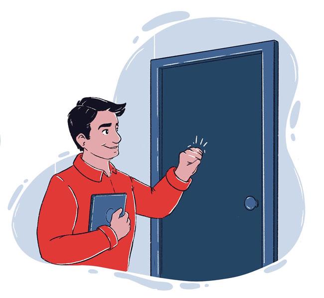 door to door e-sign mobile TrashBolt