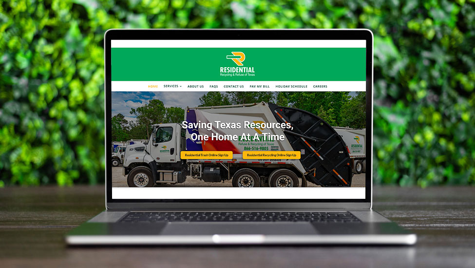 Website and SEO Services for haulers like RRRTX