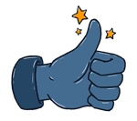 Thumbs up - Social media marketing for independent haulers